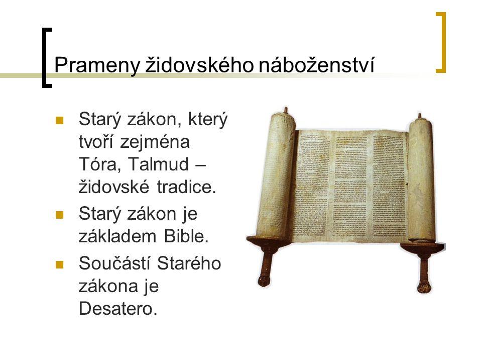 Prameny židovského náboženství