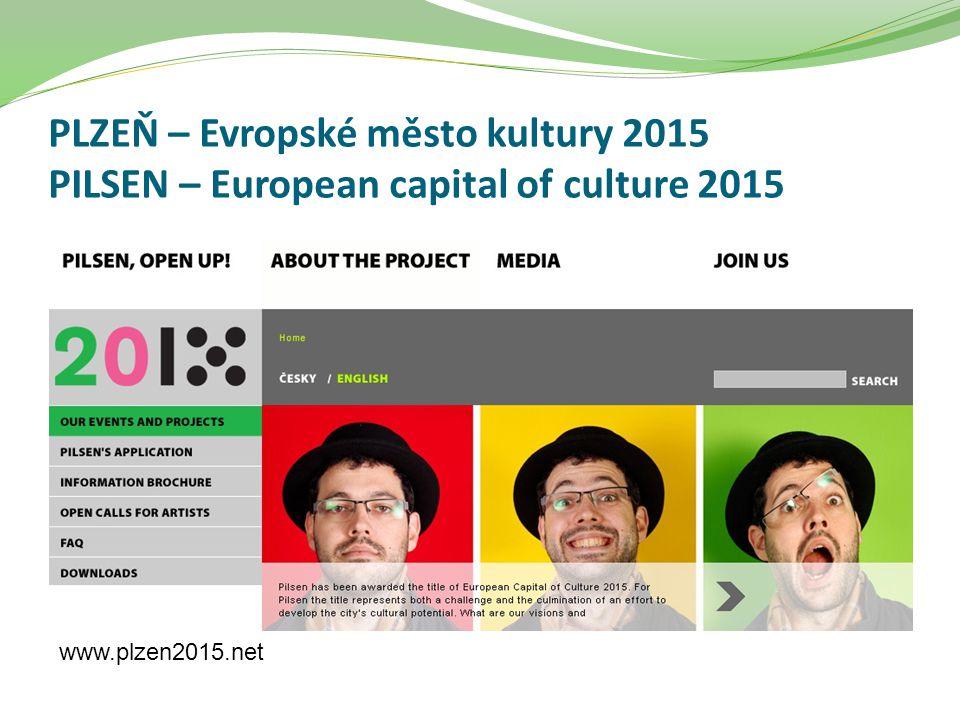 PLZEŇ – Evropské město kultury 2015 PILSEN – European capital of culture 2015