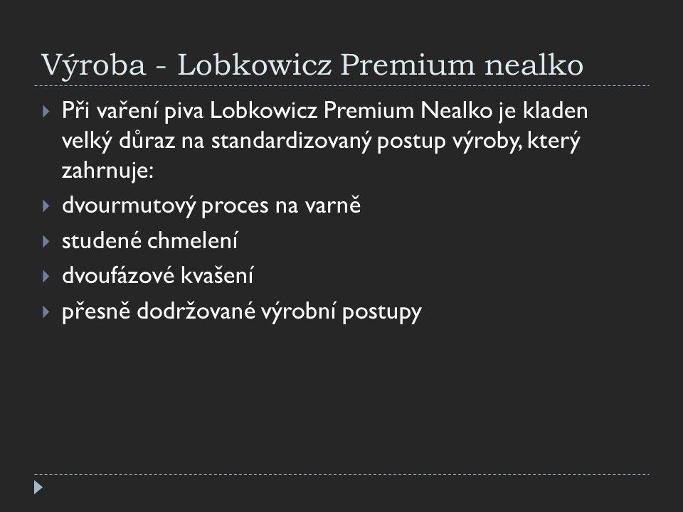 Výroba - Lobkowicz Premium nealko