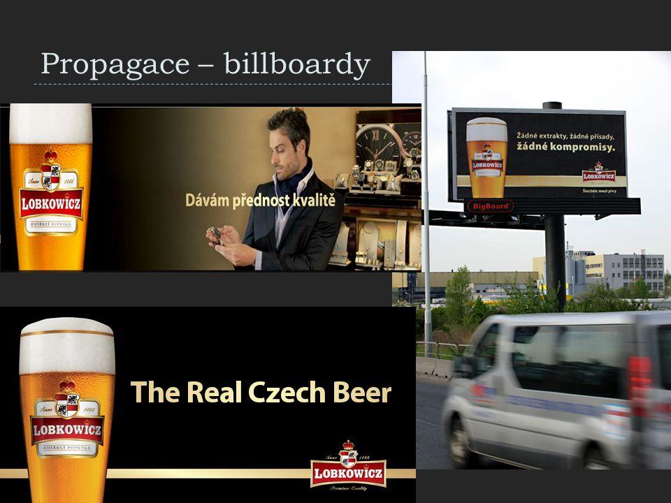 Propagace – billboardy