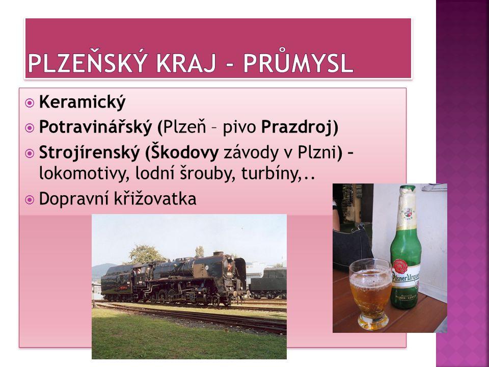 Plzeňský kraj - průmysl