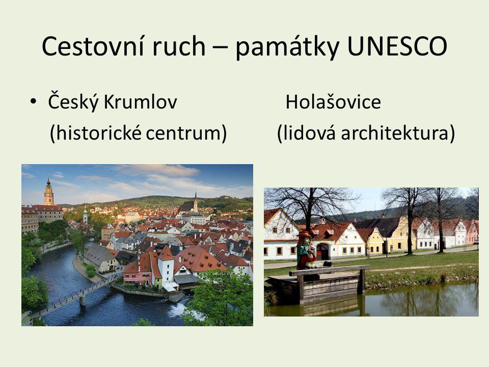 Cestovní ruch – památky UNESCO
