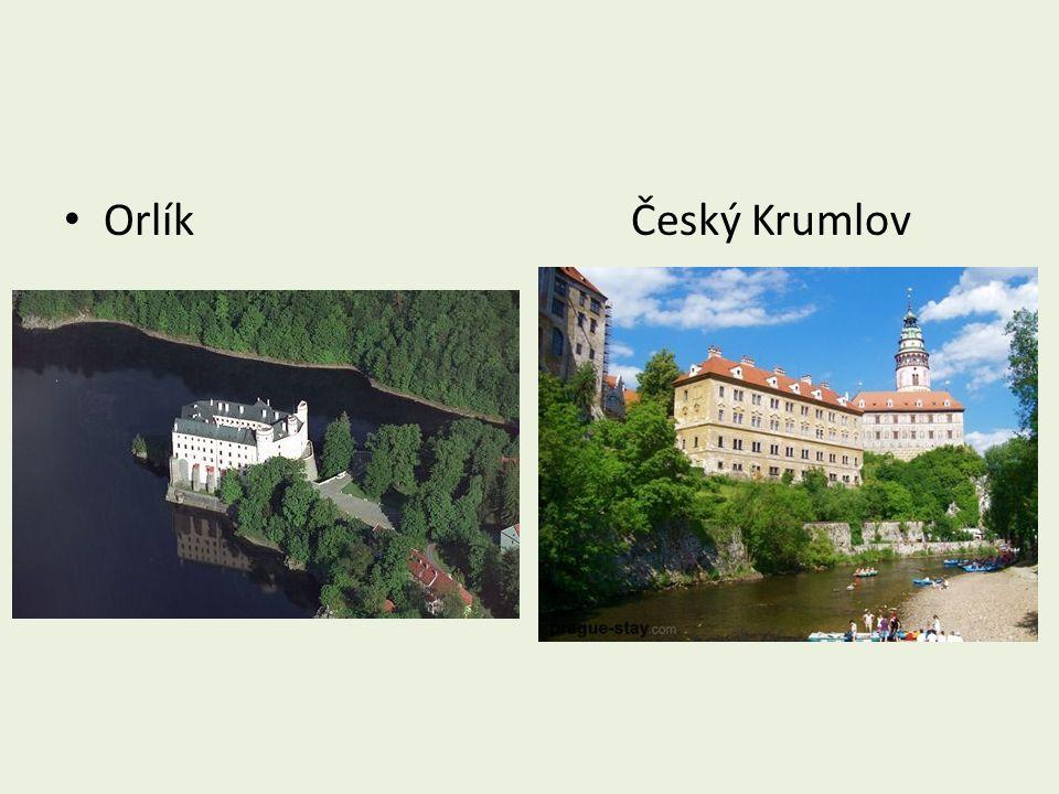 Orlík Český Krumlov