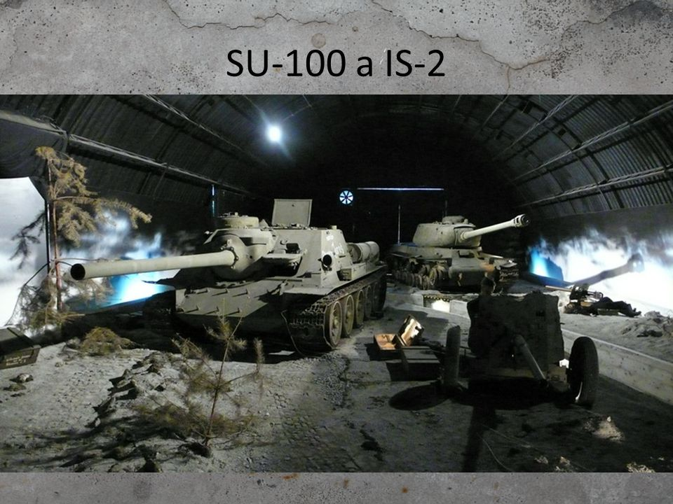 SU-100 a IS-2