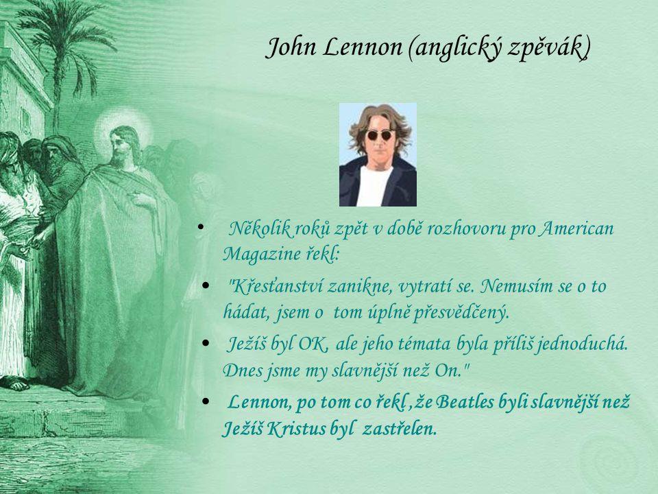 John Lennon (anglický zpěvák)