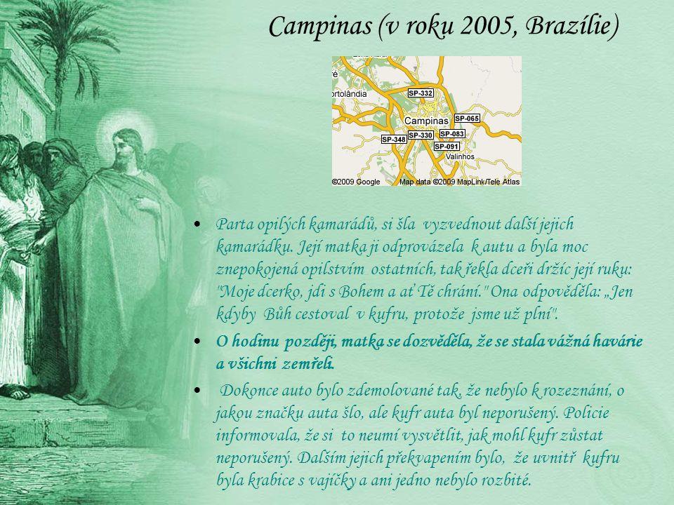 Campinas (v roku 2005, Brazílie)