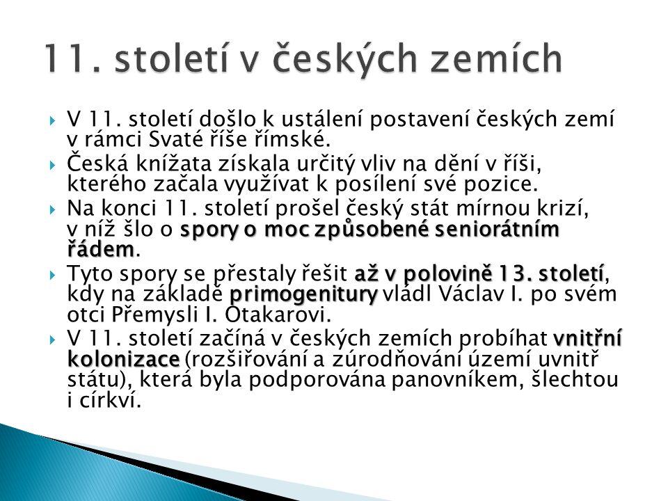 11. století v českých zemích