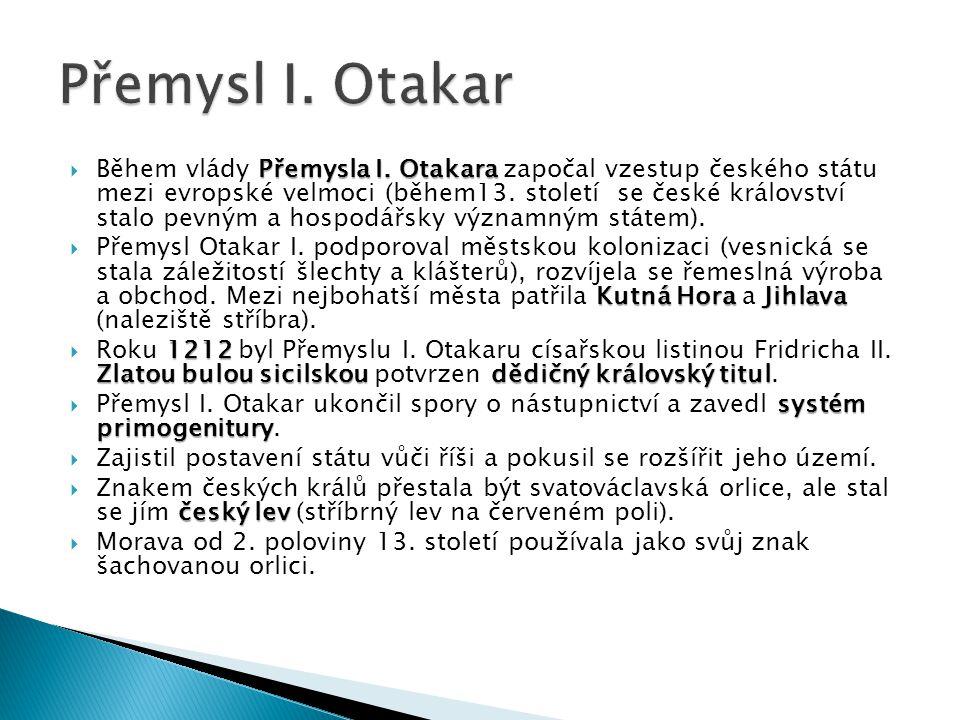 Přemysl I. Otakar