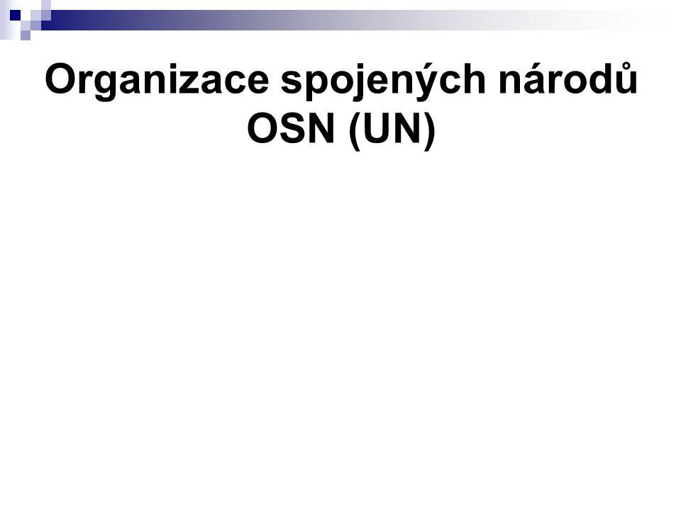 Organizace spojených národů OSN (UN)