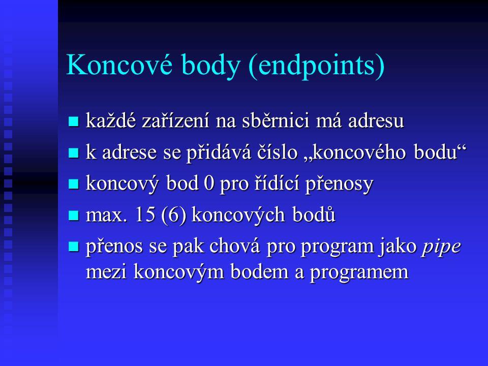 Koncové body (endpoints)