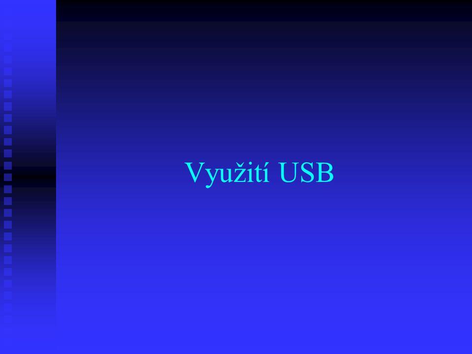 Využití USB
