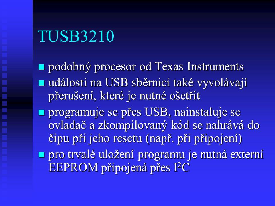 TUSB3210 podobný procesor od Texas Instruments