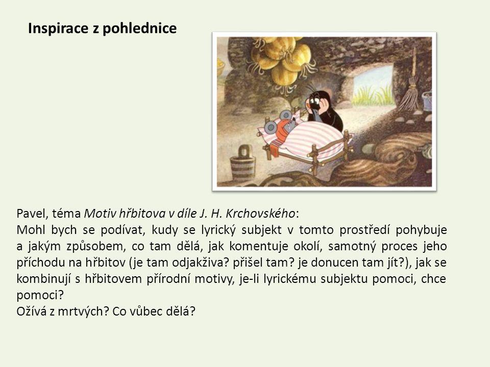 Inspirace z pohlednice