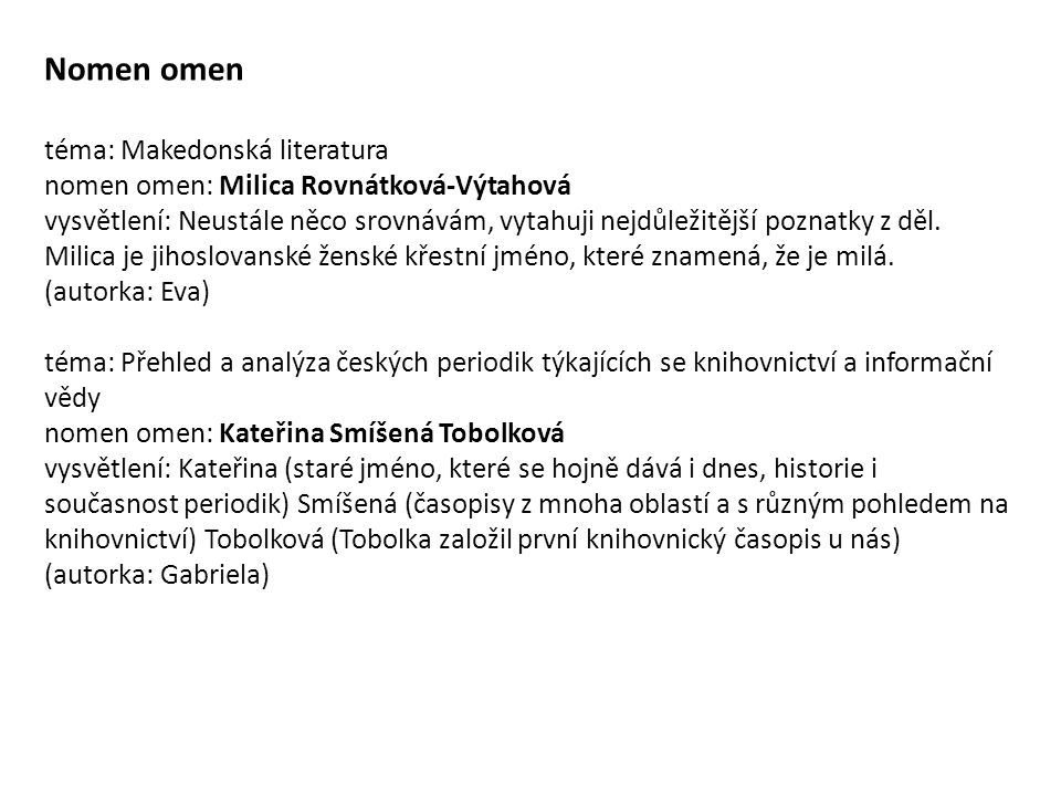 Nomen omen téma: Makedonská literatura