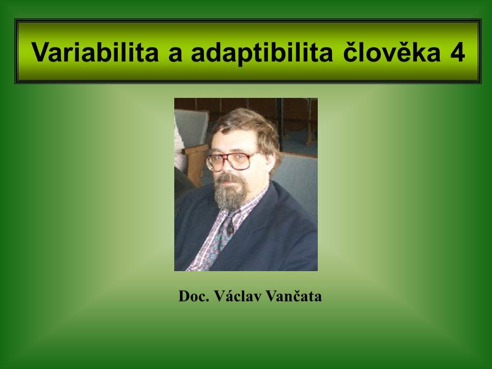 Variabilita a adaptibilita člověka 4