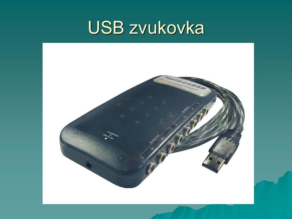 USB zvukovka