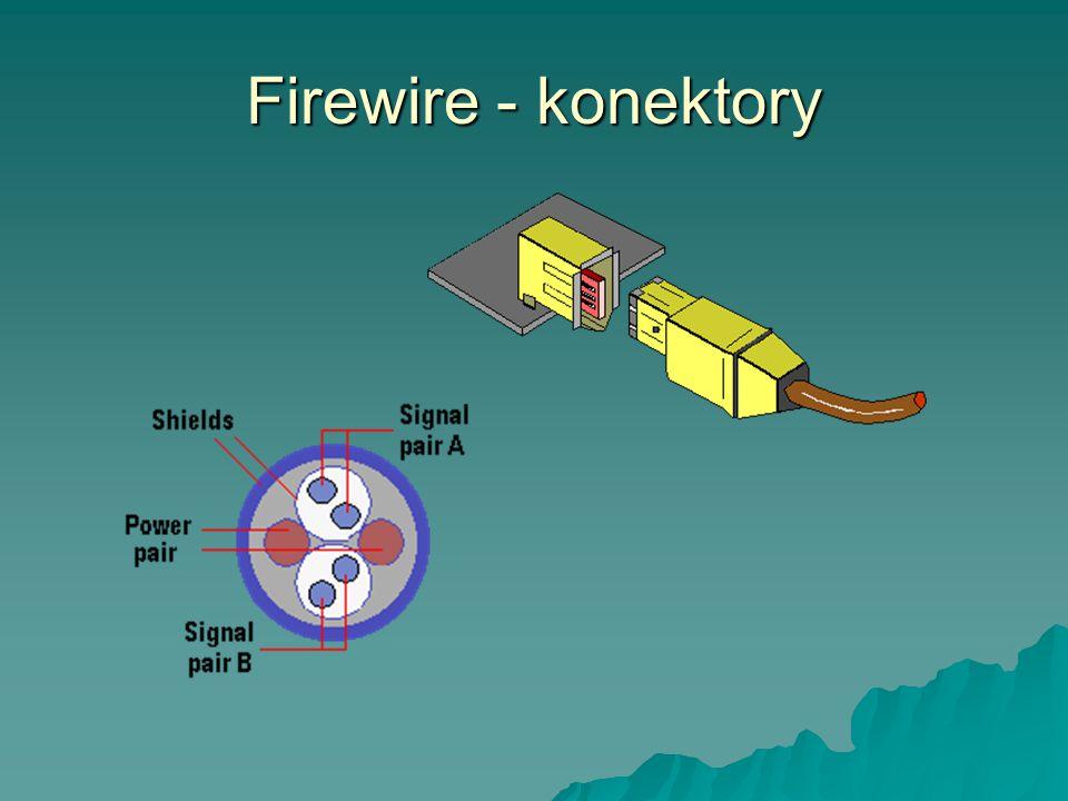 Firewire - konektory