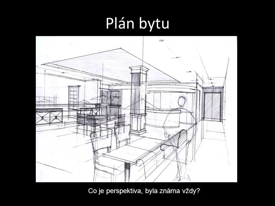 Plán bytu Co je perspektiva, byla známa vždy