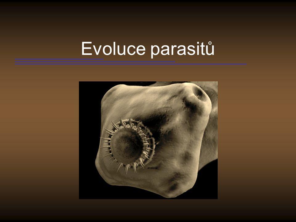 Evoluce parasitů