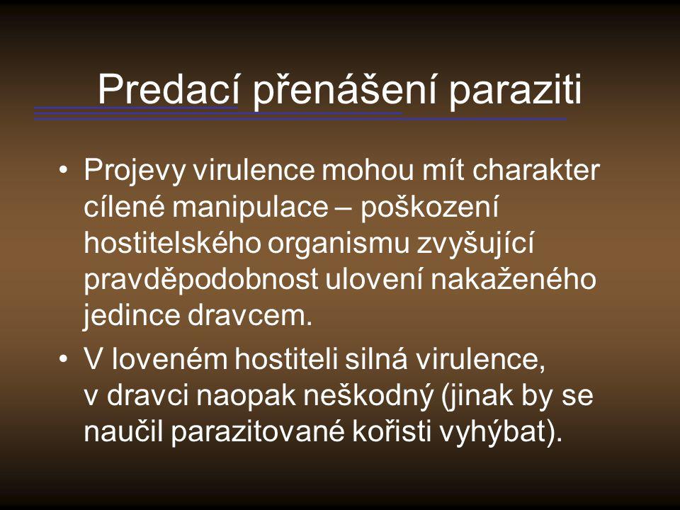 Predací přenášení paraziti