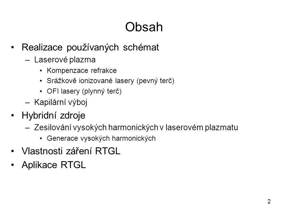Obsah Realizace používaných schémat Hybridní zdroje