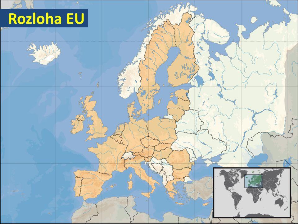 Rozloha EU