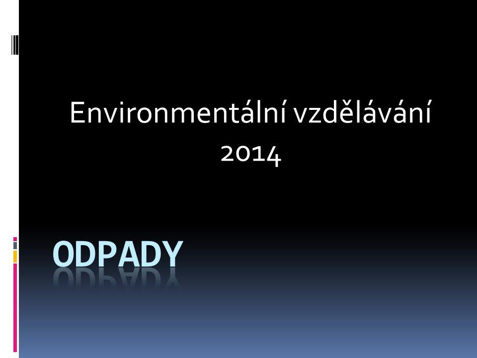 Environmentální vzdělávání 2014