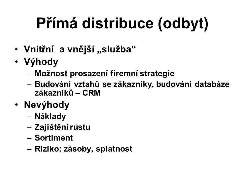 Přímá distribuce (odbyt)