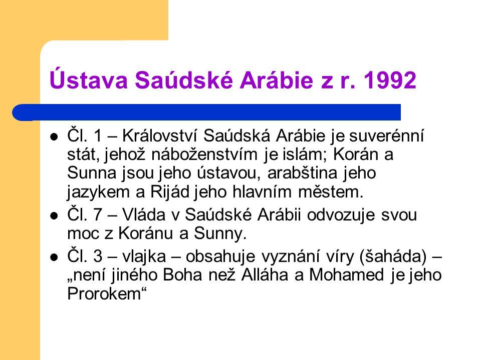 Ústava Saúdské Arábie z r. 1992