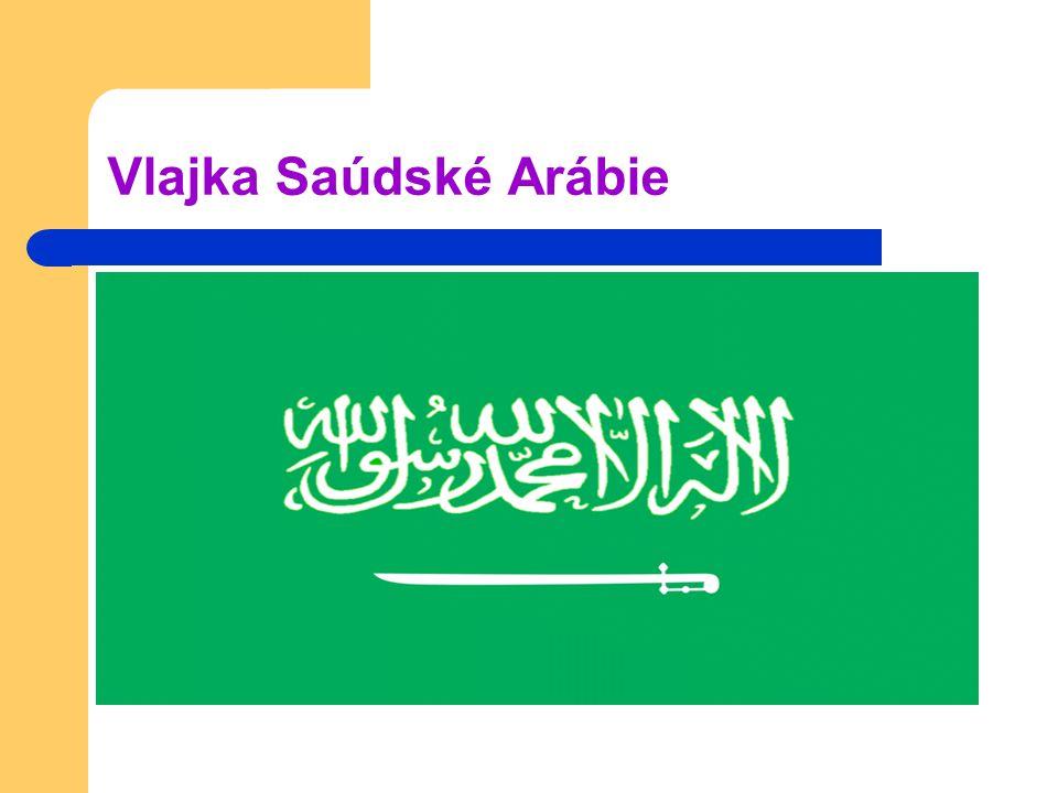 Vlajka Saúdské Arábie