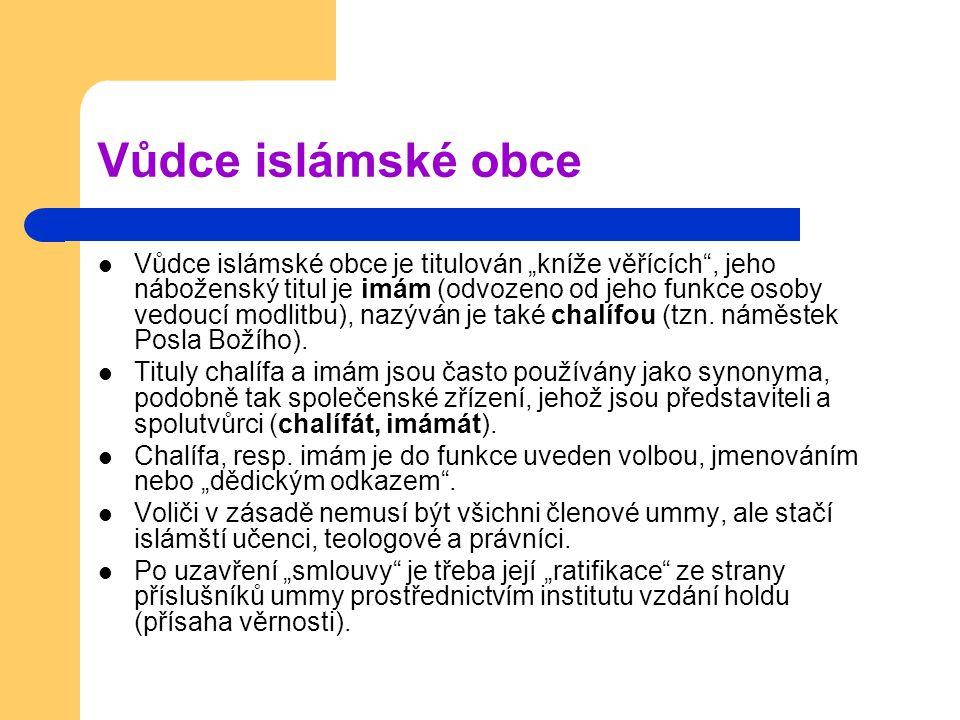 Vůdce islámské obce