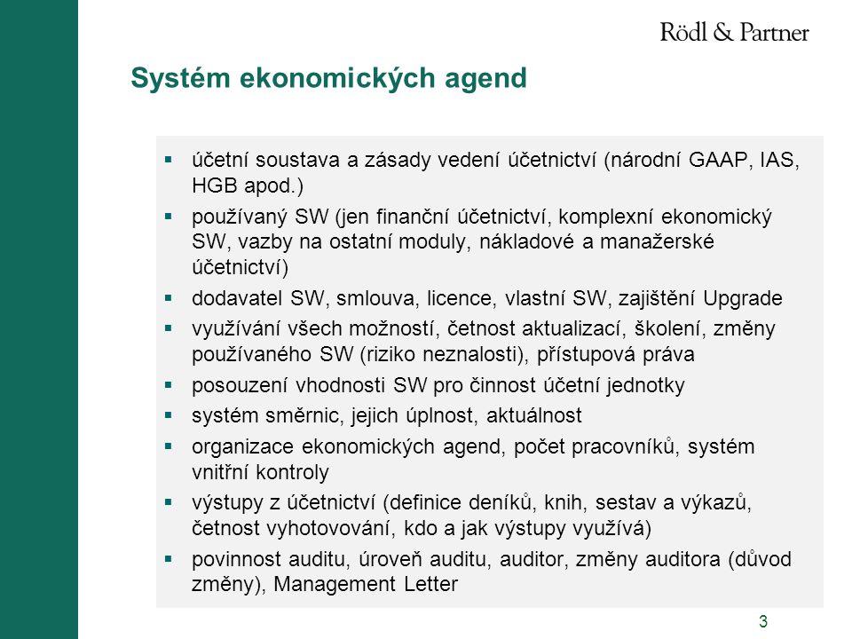 Systém ekonomických agend