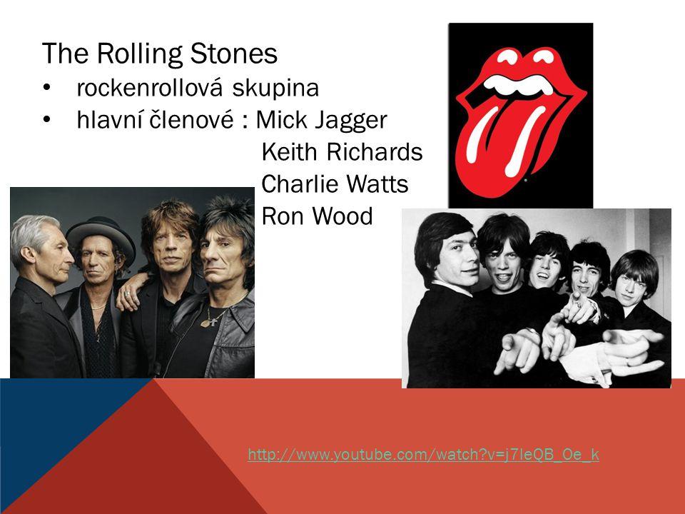 The Rolling Stones rockenrollová skupina