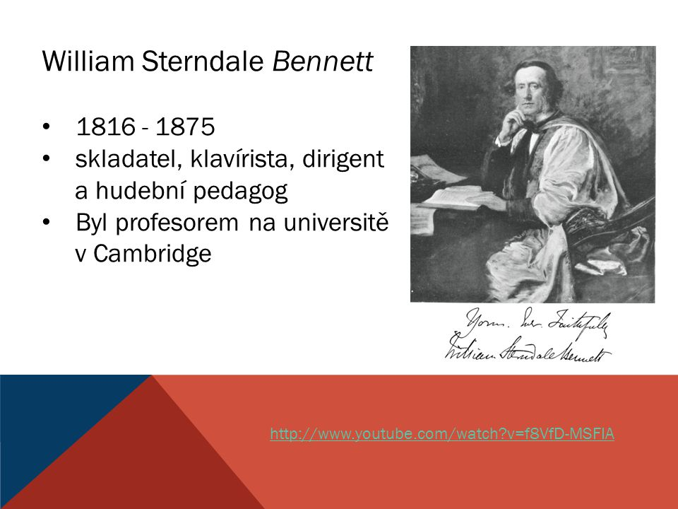 William Sterndale Bennett