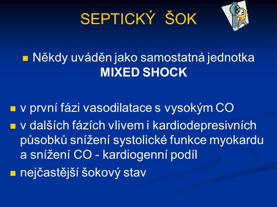 Někdy uváděn jako samostatná jednotka MIXED SHOCK