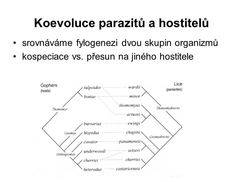 Koevoluce parazitů a hostitelů
