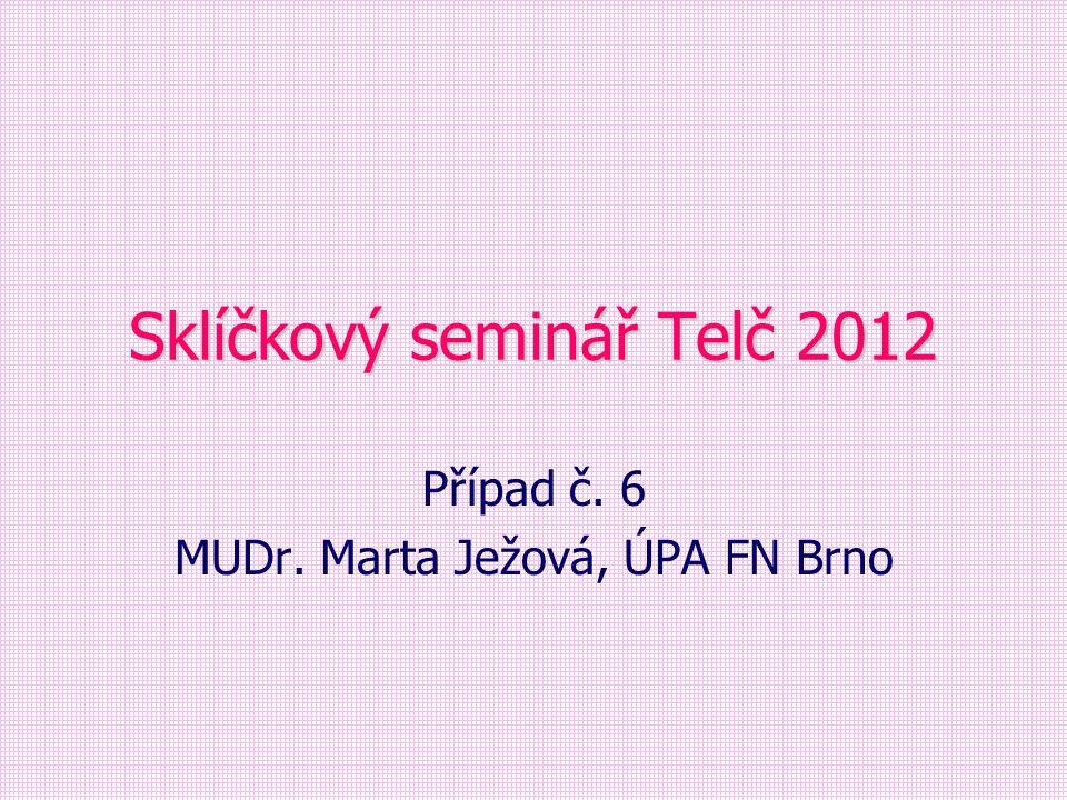 Sklíčkový seminář Telč 2012
