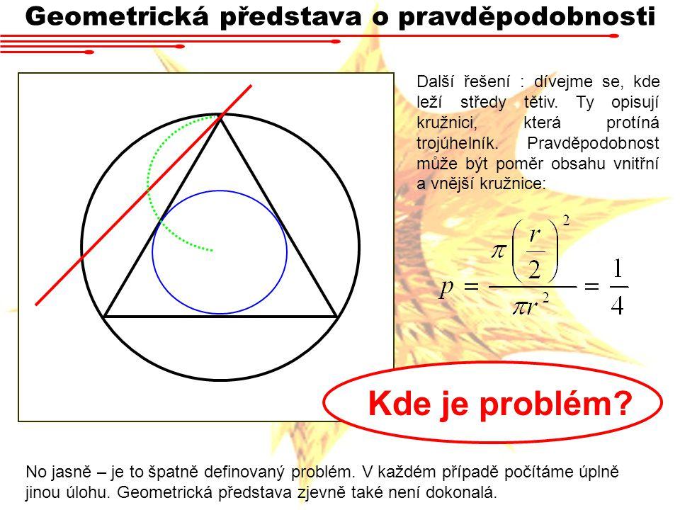 Geometrická představa o pravděpodobnosti