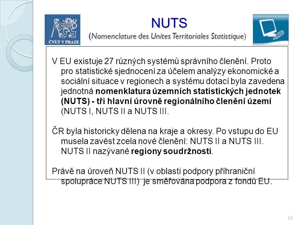 NUTS (Nomenclature des Unites Territoriales Statistique)