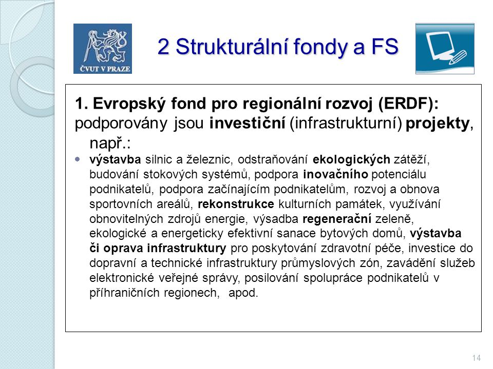 2 Strukturální fondy a FS