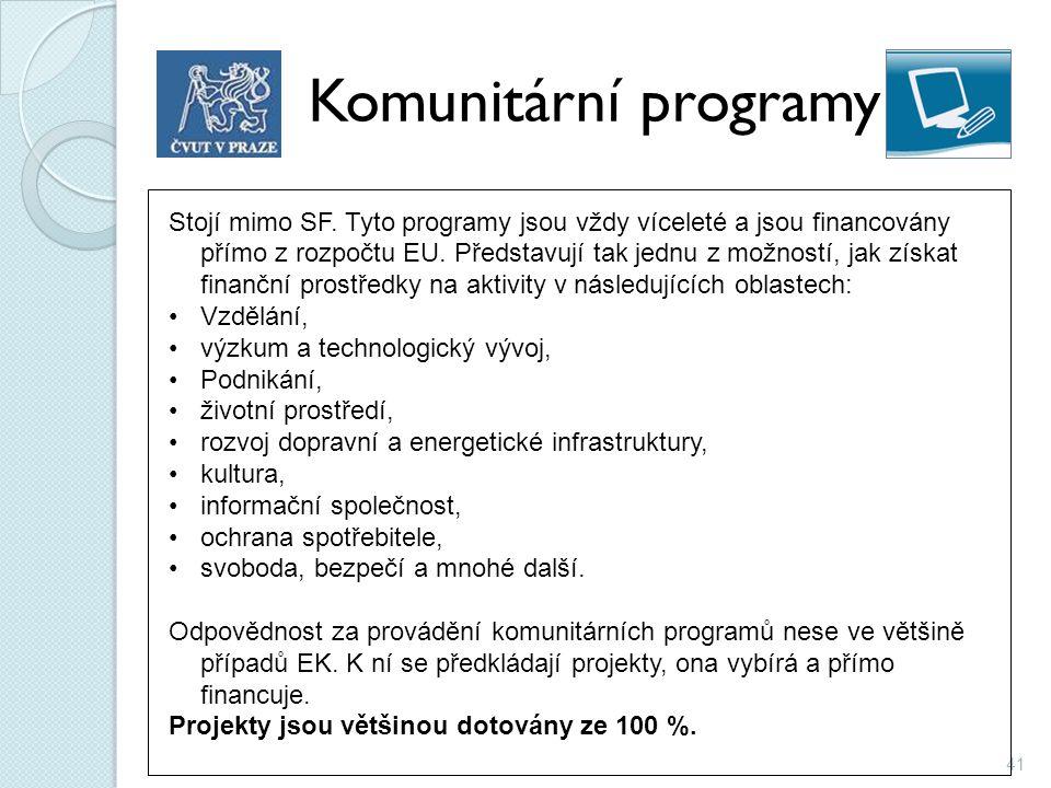 Komunitární programy
