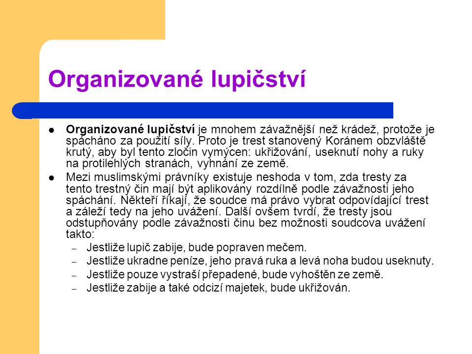 Organizované lupičství
