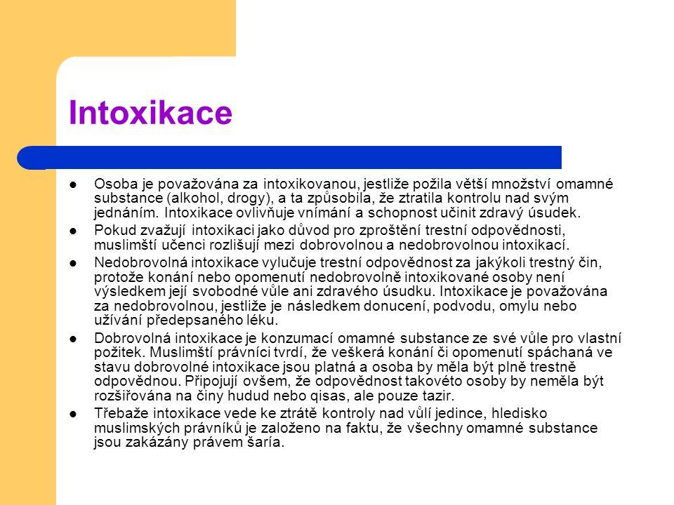 Intoxikace
