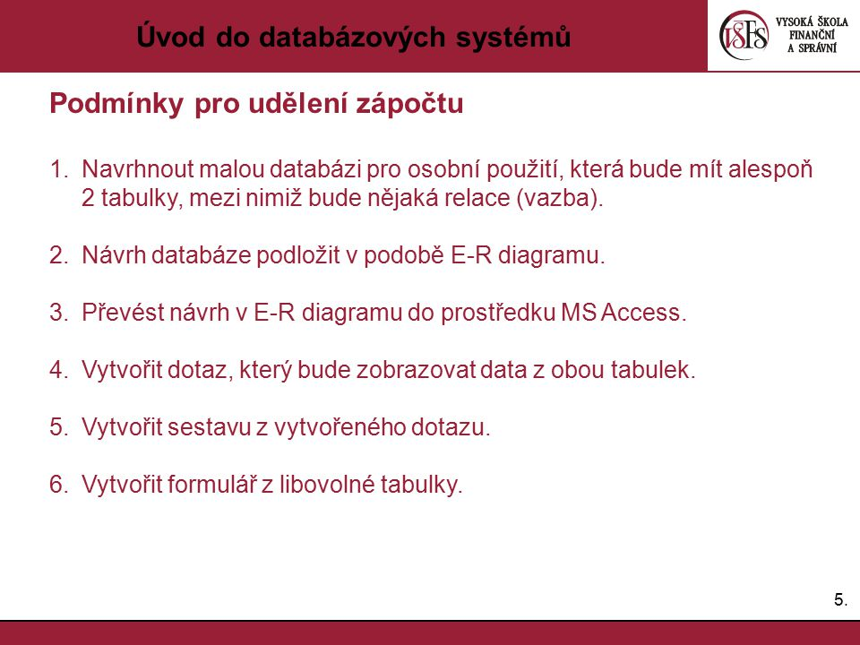 Úvod do databázových systémů