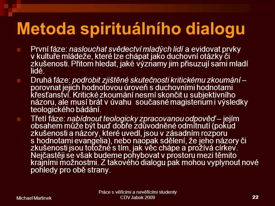 Metoda spirituálního dialogu