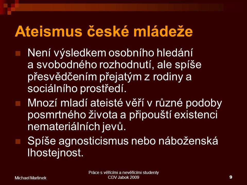 Ateismus české mládeže