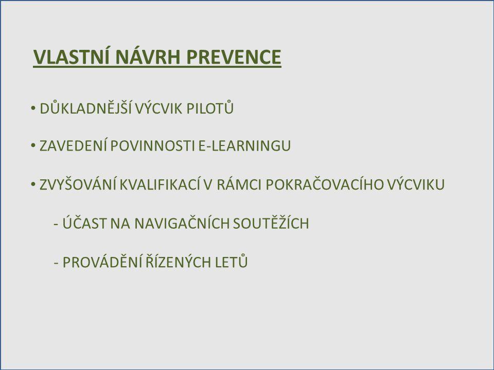VLASTNÍ NÁVRH PREVENCE