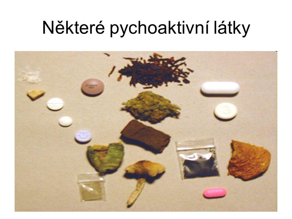 Některé pychoaktivní látky