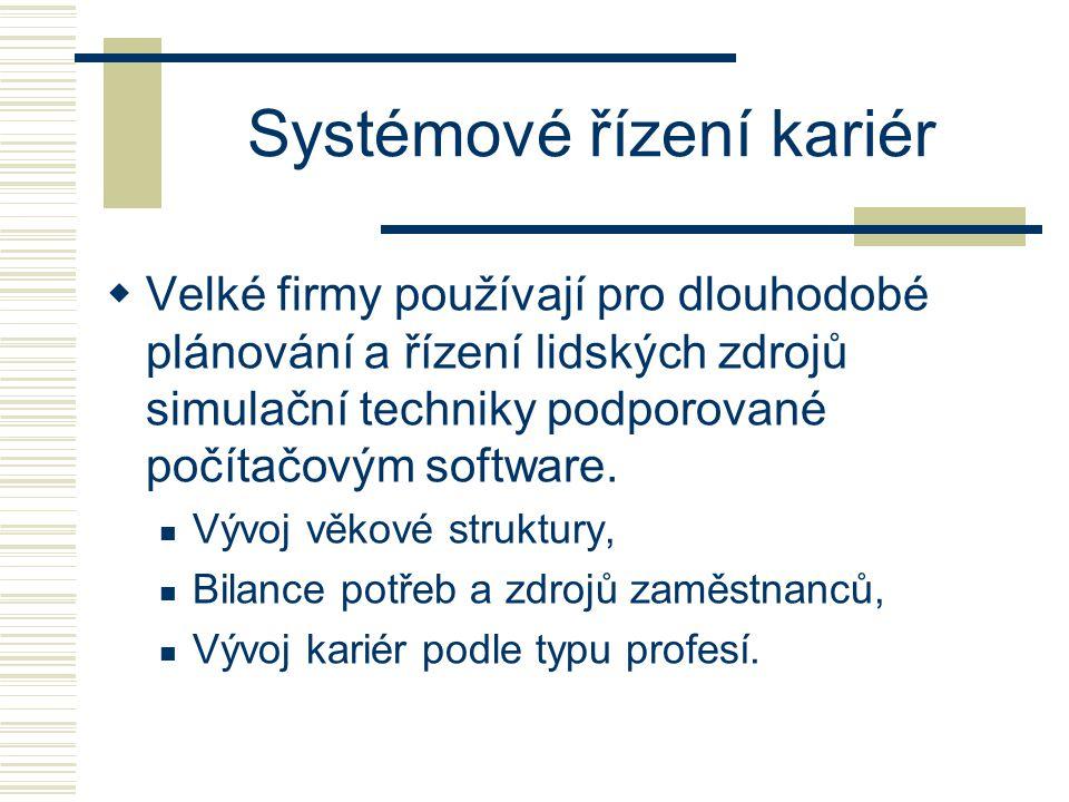 Systémové řízení kariér