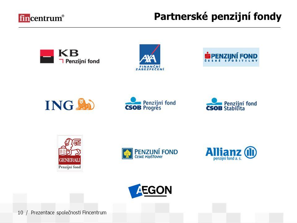 Partnerské penzijní fondy